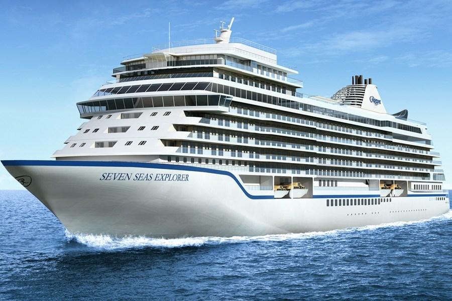 ล่องเรือสำราญ Seven Seas Explorer ของสายเรือ Regent Seven Seas